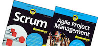 Scrum for Dummies and Agile Project Management for Dummies books.