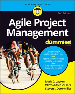 Scrum for Dummies book