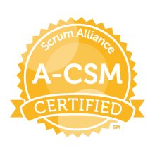 A-CSM badge logo