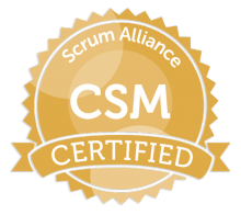 Certified ScrumMaster badge